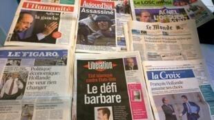 Diários franceses21/08/2014