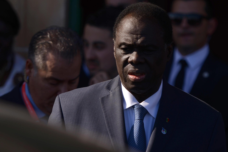 Le Burkinabè Michel Kafando, ancien président de la Transition (2014-2015), nouvel envoyé spécial de l'ONU au Burundi. Photo de novembre 2015.
