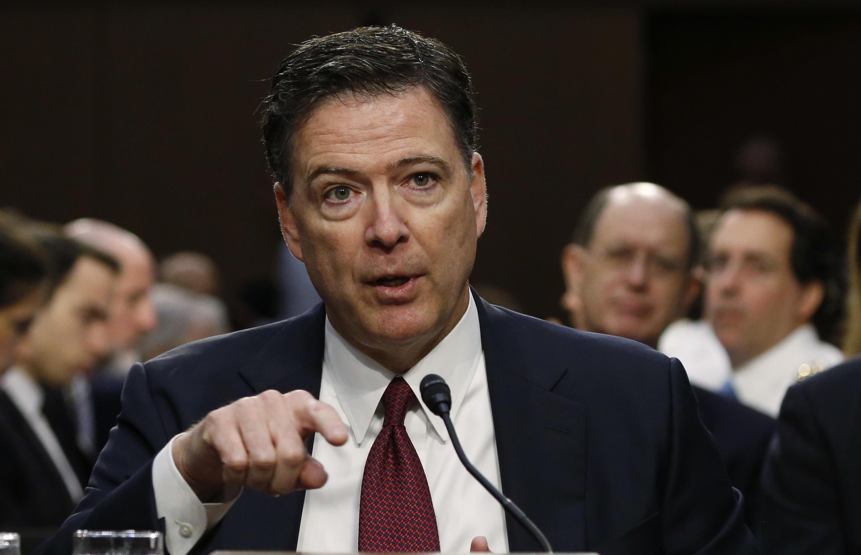 O ex-diretor do FBI James Comey.
