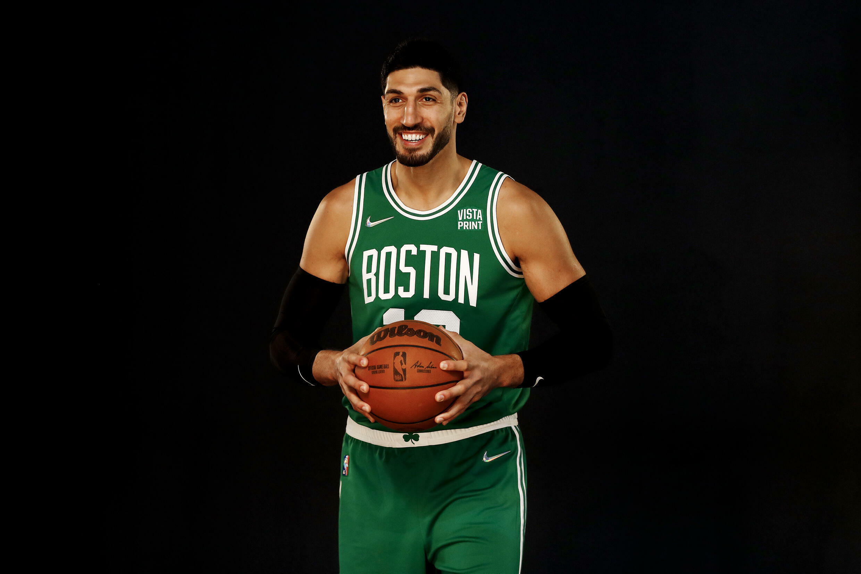 坎特 Enes Kanter, numéro 13 des Boston Celtics, 2021年9月21日