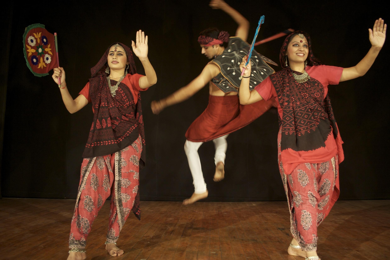Aadi Nritya tribal dance by the Darpana company