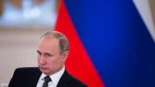 O presidente russo, Vladimir Putin, inicia seu quarto mandato presidencial na segunda-feira (7), pelo qual permanecerá no comando da Rússia até 2024. Foto do 05/04/18 em Moscou