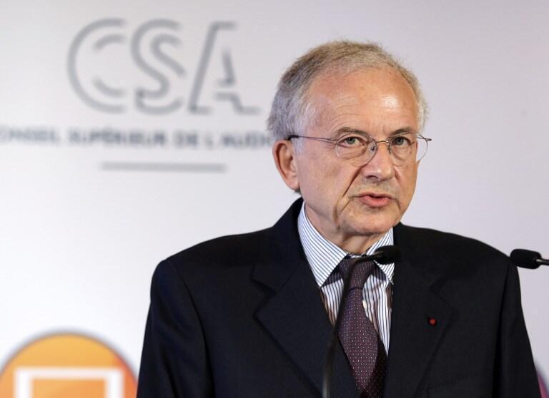 Le président du CSA, Olivier Schrameck en 2014.