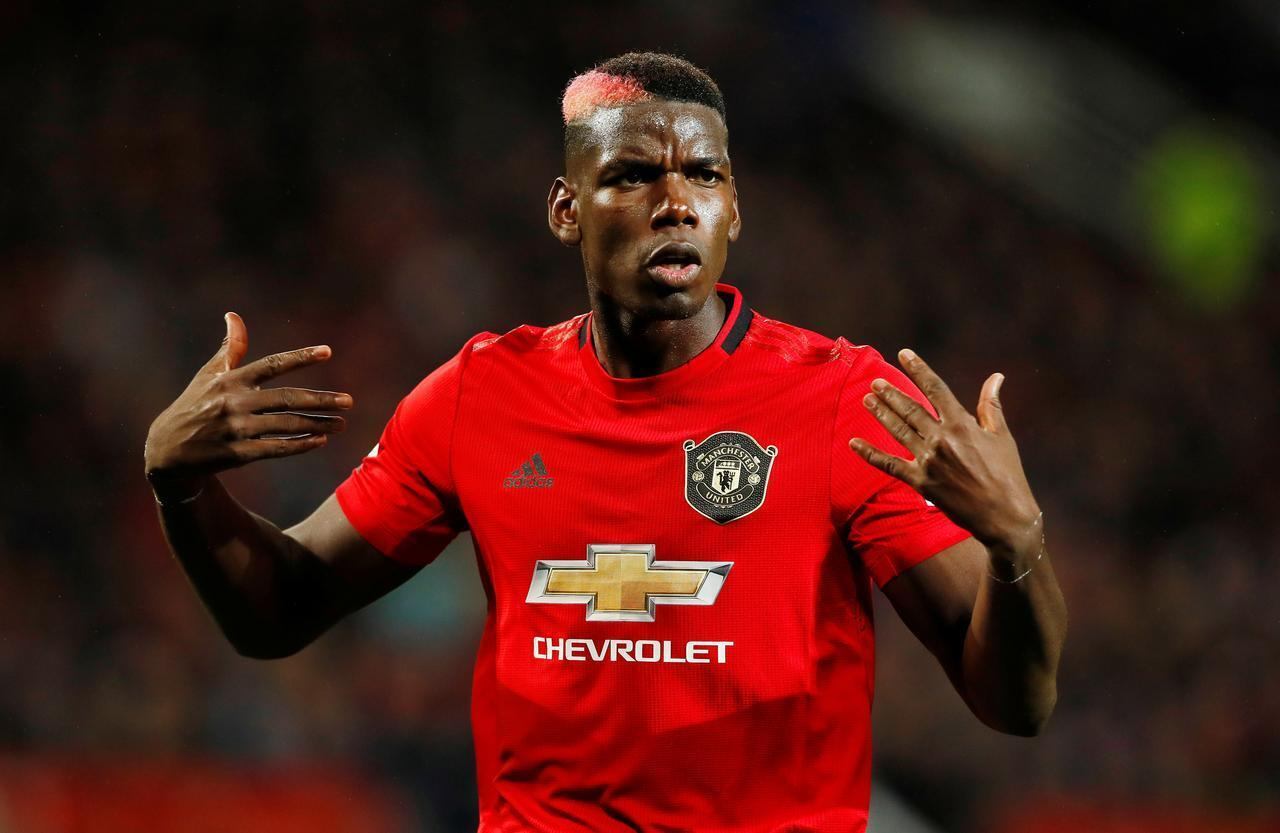 Paul Pogba, tauraron Manchester United