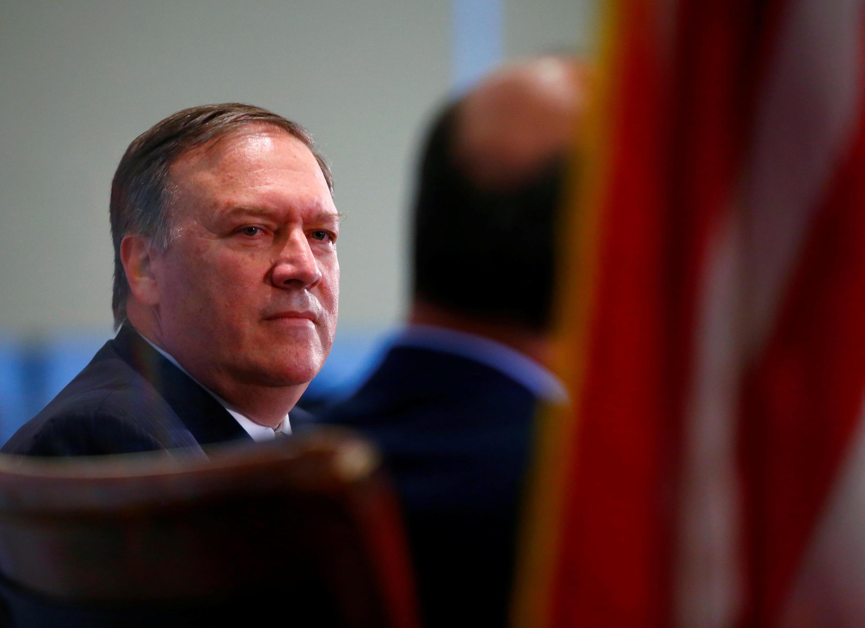 Giám đốc CIA Mike Pompeo. Ảnh chụp tại Washington, ngày 13/04/2017.