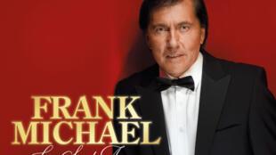 """Détail de la pochette de l'album """"La saint-amour"""" de Frank Michael."""