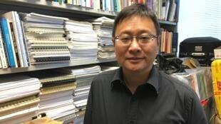 Kenneth Chan, enseignant en sciences politiques à l'Université baptiste de Hong Kong.