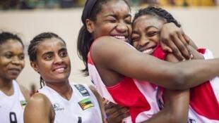 Vitória das moçambicanas frente às angolanas no AfroBasket 2017