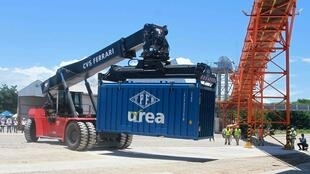 Bolívia inicia exportações de ureia para o Brasil