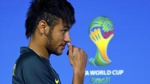Neymar  tauraron Brazil a gasar cin kofin duniya a bana.