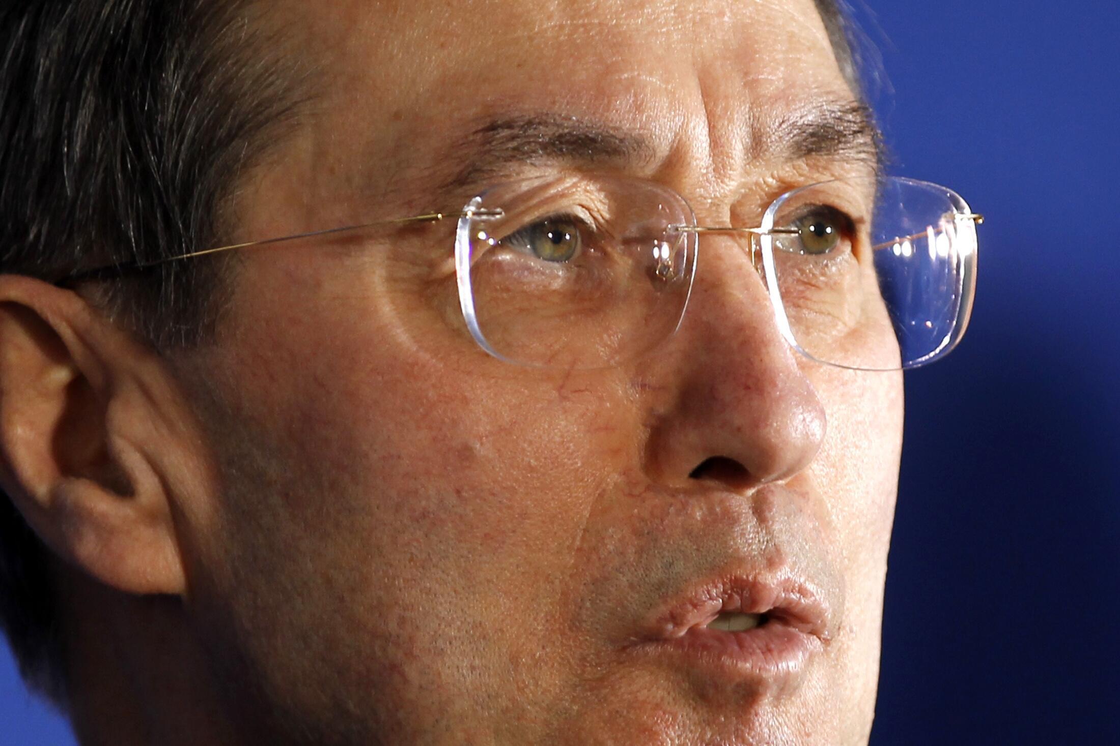 Claude Guéant, ministro francés del Interior.