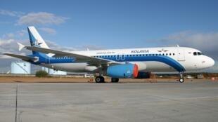 យន្តហោះធុន Airbus របស់ក្រុមហ៊ុន Kolavia