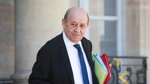 "French Foreign Affairs Minister Jean-Yves Le Drian (pictured May 2020) said, ""We cannot exclude the prospect of a 'no deal' but we want to avoid it"""
