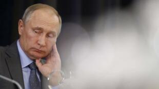 Президент РФ Владимир Путин, Сочи, 12 октября 2017.