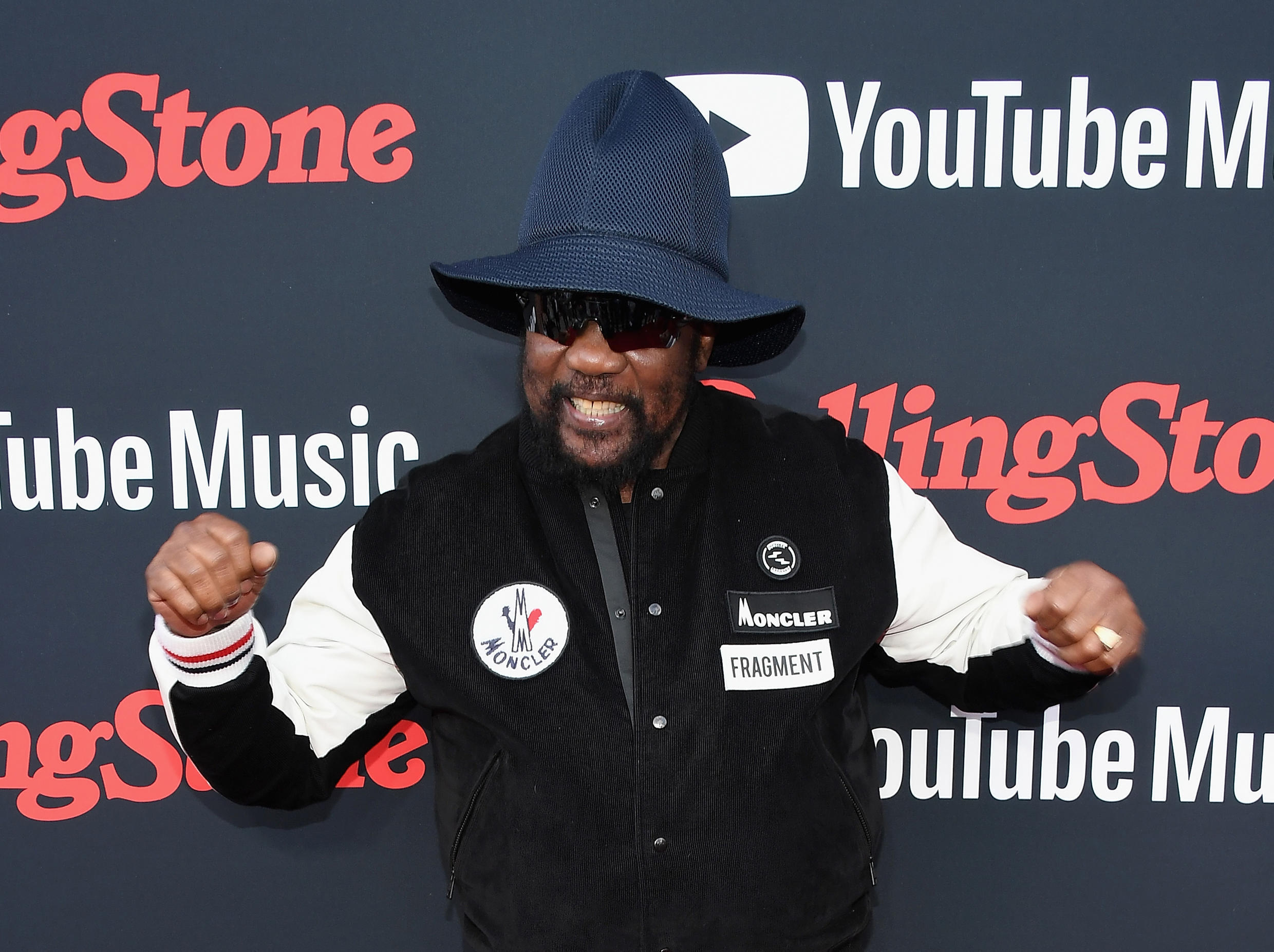 Toots Hibbert, a founding father of reggae music, who died Friday at age 77, is seen here at a Rolling Stone event in 2018 in New York
