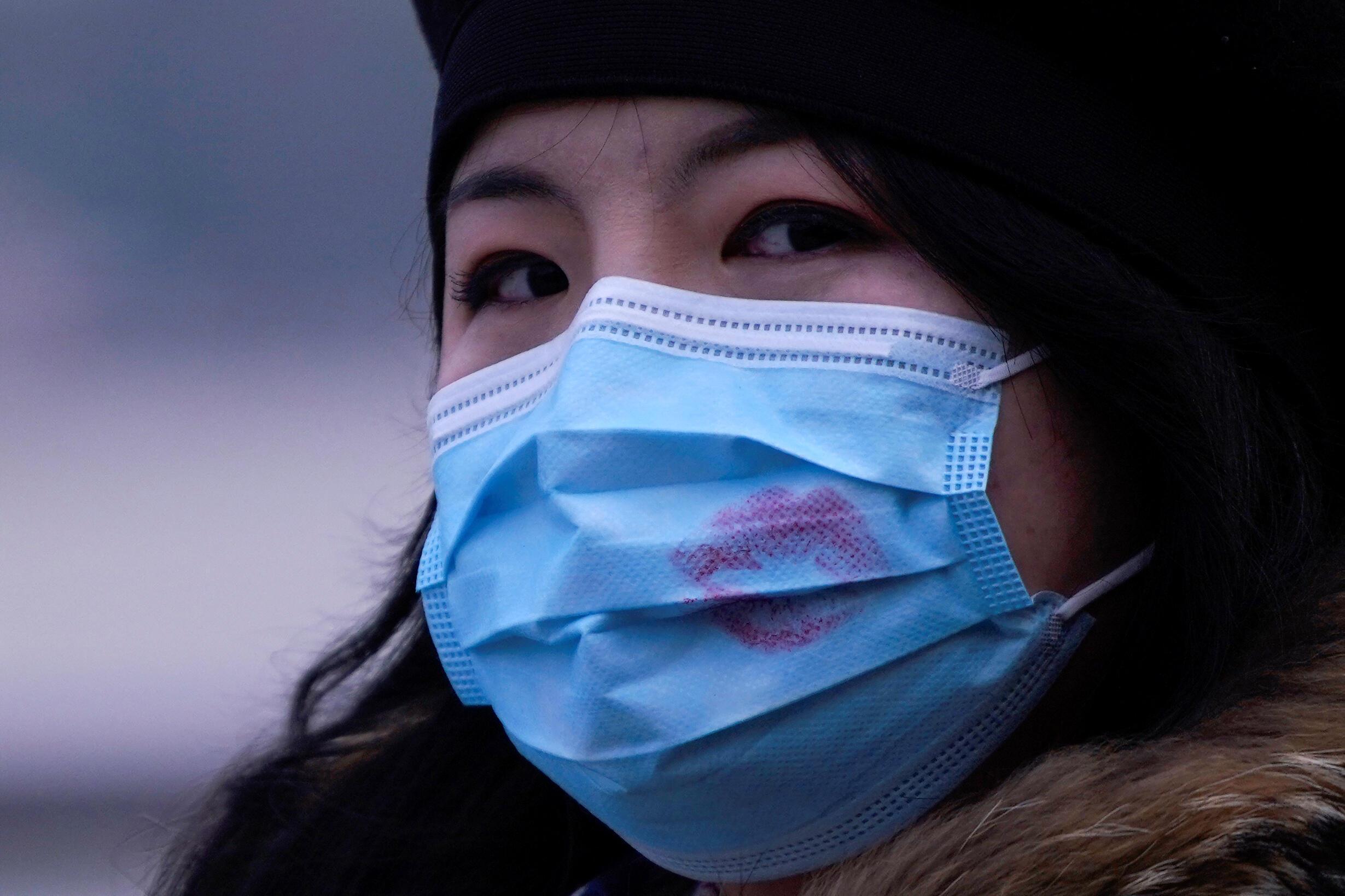 上海一名妇女 2020年1月29日