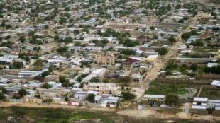 Vue aérienne de N'Djamena, la capitale tchadienne.