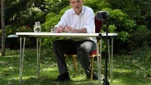Dominic Cummings lors d'une conférence de presse au 10, Downing Street, le 25 mai 2020.