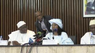 La porte-parole du gouvernement Ndèye Tické Ndiaye Diop a mené la riposte pour le gouvernement sénégalais.