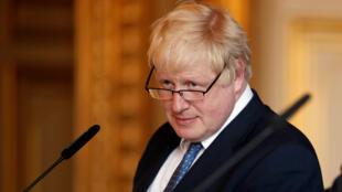 Waziri Mkuu mpya wa Uingereza Boris Johnson.