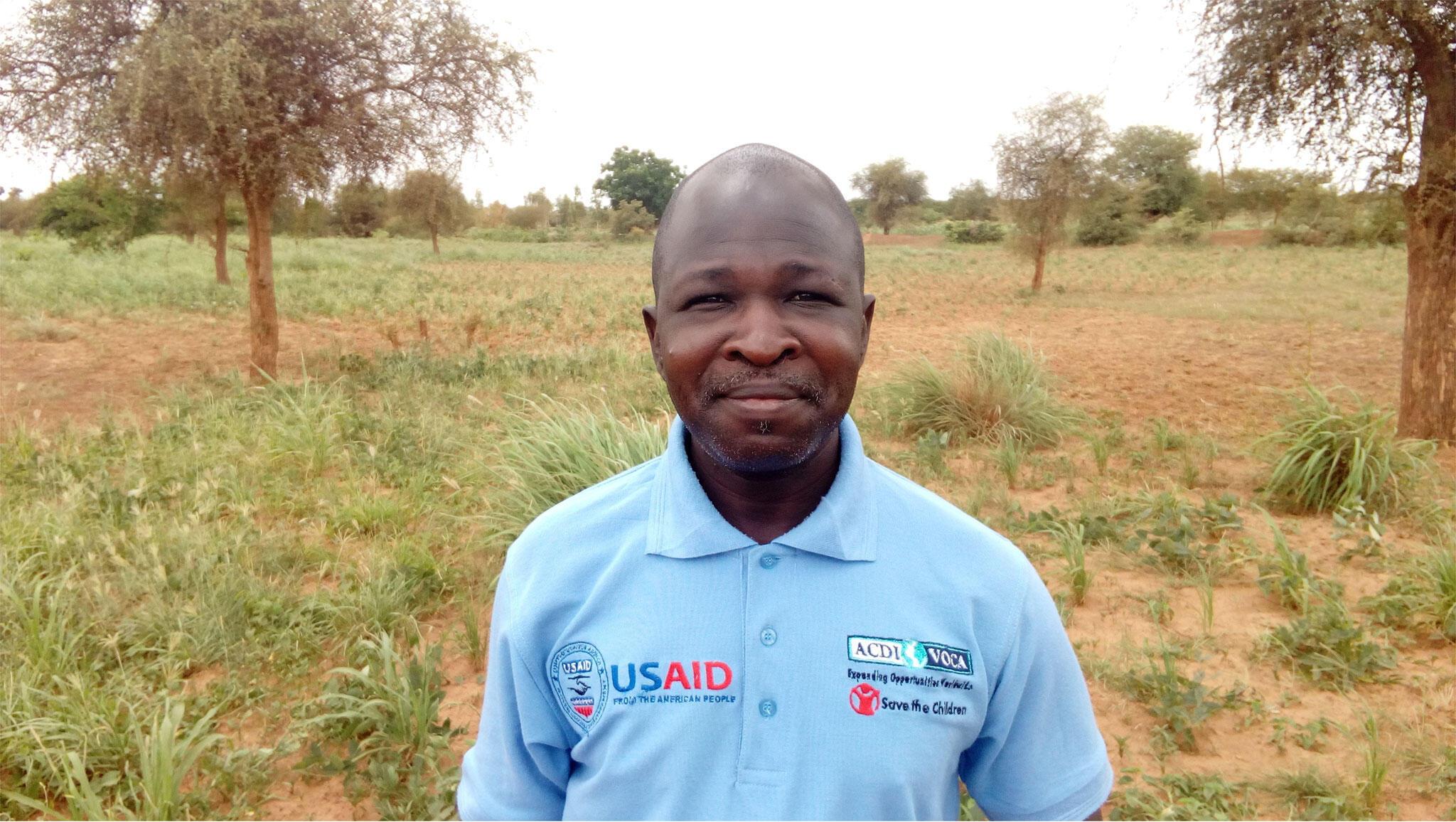 Léon Zongo, directeur adjoint agriculture et moyens d'existence du projet Victoire sur la Malnutrition.