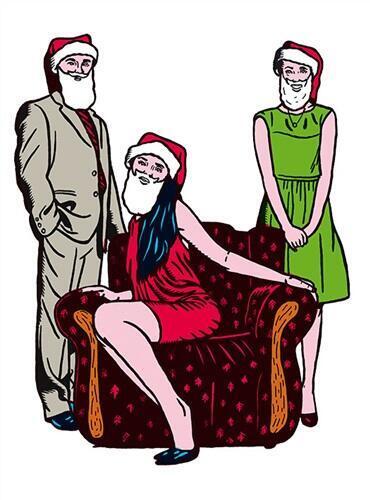 Un visuel de la pièce «Noël revient tous les ans».