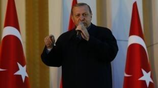 Shugaban kasar Turkiya Recep Tayyip Erdogan