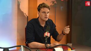 Yannick Agnel sur RFI le 22 juin 2018.