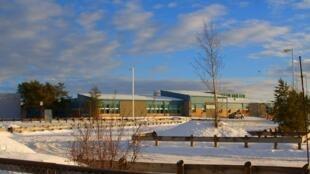 El liceo de La Loche, una comunidad de la provincia de Saskatchewan, en el centro de Canadá.