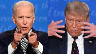 El debate en Cleveland mostró a Donald Trump y Joe Biden interrumpiéndose e insultándose repetidamente.