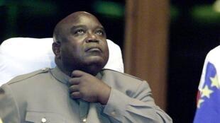 L'ancien président congolais Laurent-Désiré Kabila a été assassiné le 16 janvier 2001 (ici en août 2000).
