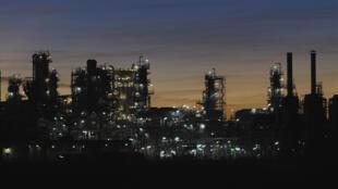 Usine de production de GNL, en Australie.