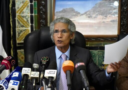 Mohamed Salem Ould Salek, ministre des Affaires étrangères de la République arabe du Sahara occidental. 5 février 2018.