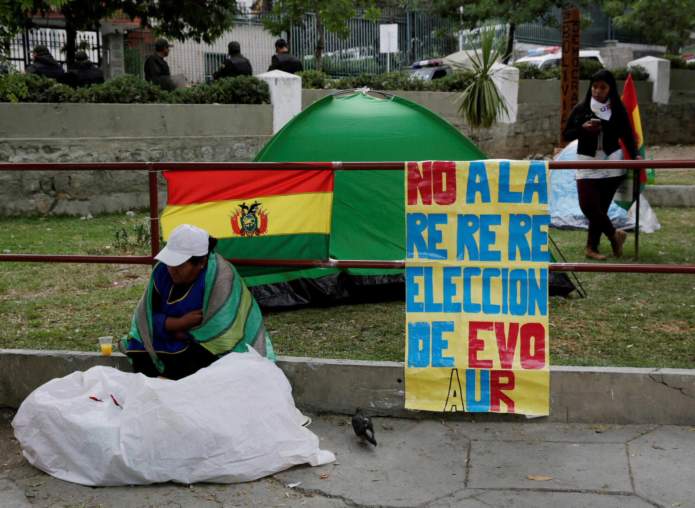 En La Paz, capital boliviana, este 13 de diciembre de 2018.