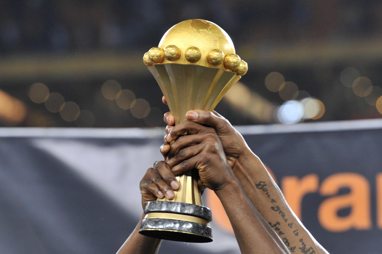 Le trophée remis au vainqueur de la Coupe d'Afrique des nations.