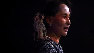 圖為緬甸資政昂山素季2018年11月12日於新加坡參加東盟峰會