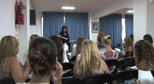 """Mulheres argentinas vítimas de implantes mamários defeituosos da marca francesa PIP criaram o coletivo """"Afectadas"""", para fazer valer seus direitos."""