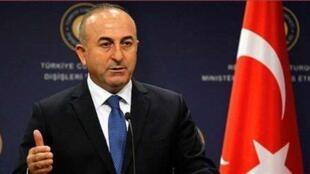 مولود چاووشاوغلو، وزیر امور خارجه ترکیه.
