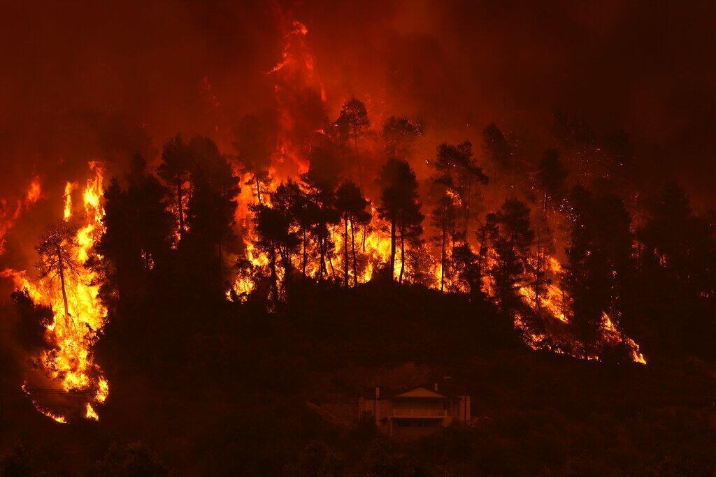 Incêndios Grécia
