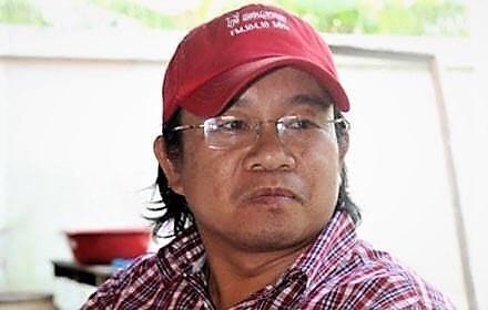 """Wuthipong Kachathamakul, đối lập Thái Lan vừa bị """"bắt cóc"""" tại Lào."""