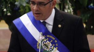 El presidente de El Salvador, Mauricio Funes,  cumple dos años de mandato.