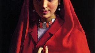 靳尚宜先生代表作《塔吉克族新娘》
