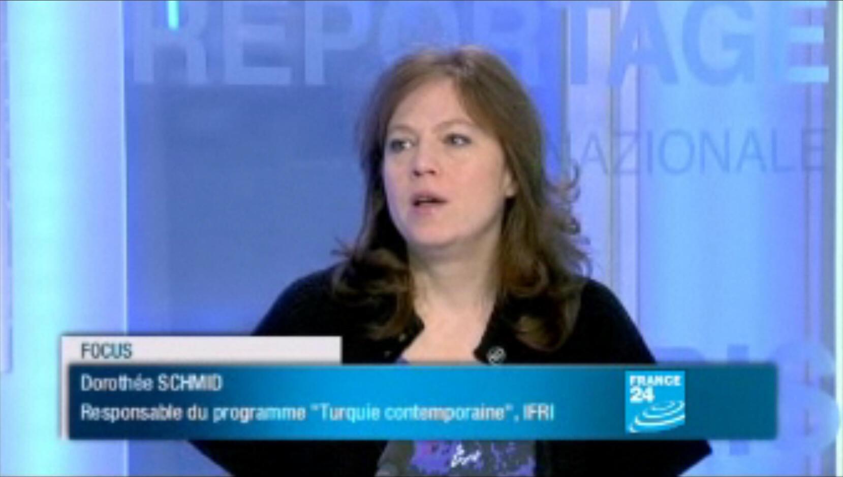 Dorothée Schmid, chercheuse spécialiste de la Turquie contemporaine à l'IFRI