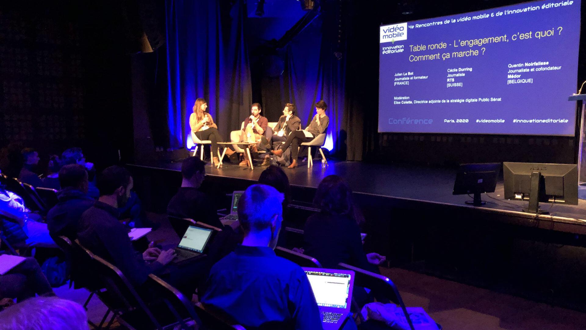 Les 4e Rencontres de la vidéo mobile et de l'innovation éditoriale se sont tenues le 6 février 2020 à Paris.