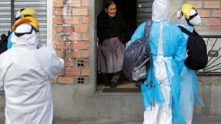 Os serviços de atendimento aos doentes de coronavírus estão quase saturados na Bolívia.