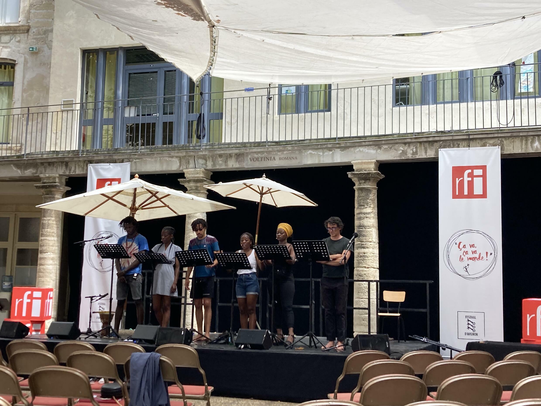 Lectures de RFI à Avignon 2021
