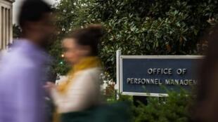Cơ quan  chủ quản dữ liệu nhạy cảm nhân sự, công viên chức Mỹ - Office of Personnel Management (OPM) tại  Washington. Ảnh chụp 17/10/2013.