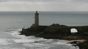 The coast off Finistère where the Cordelière warship was sunk during a 16th-century battle