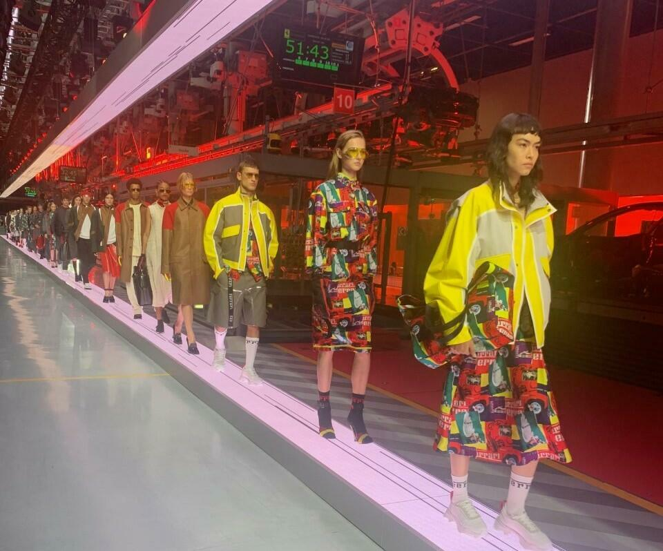 Ferrari fashion for men and women_Italy_13 June 2021_Sabina Castelfranco