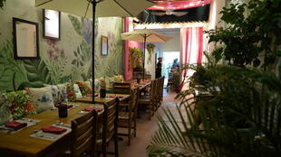 Le restaurant Interno de la prison pour femmes San Diego, à Carthagène des Indes, en Colombie.